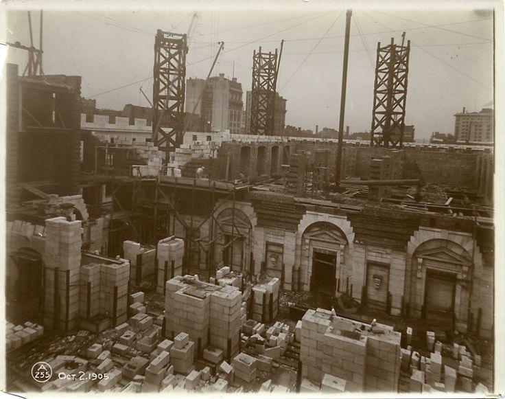 construcción biblioteca nueva york